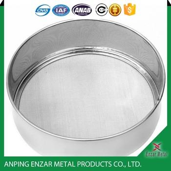 200 Micron Mesh Sieve Stainless Steel Standard Test Sieve