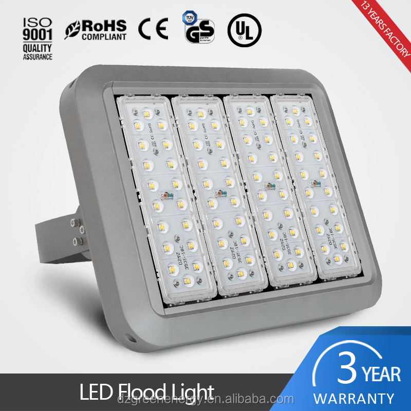 5 Years Warranty CE and RoHS listed IP67 high power 200 watt led lights and flood light