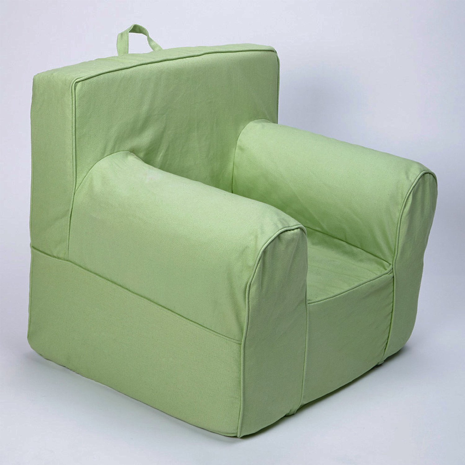Get Quotations · CUB CHAIRS Oversize Green Chair Cover For Foam Childrenu0027s  Chair