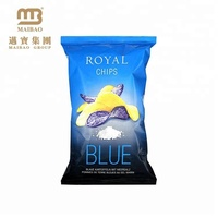 Laminated French Fries Packaging Plastic Pouch Potato Chips Bag With Custom Logo Design Printing