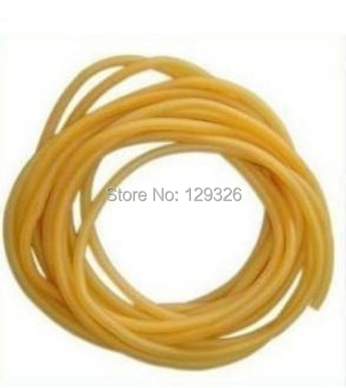 "Free shipping 10 feet / 3 M L 1/4"" / 6 MM ID x1/16"" 1.5MM W OD 3/8"" / 9MM Surgical Latex Tubing"