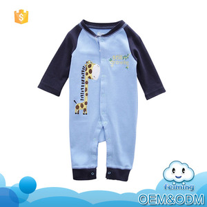 2016 China manufacturer guangzhou kid romper product designer fashion branded organic cotton baby rompers wholesale baby clothes