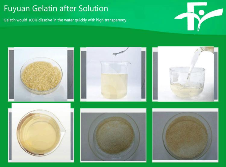2.Fuyuan Gelatin after solution