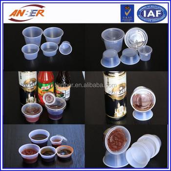 3a8bdf8c6cd Small Clear Plastic Jello Shot Souffle Portion Condiment Sauce Dip Cups  With Lids Disposable Wholesale - Buy Small Clear Plastic Jello Shot Souffle  ...