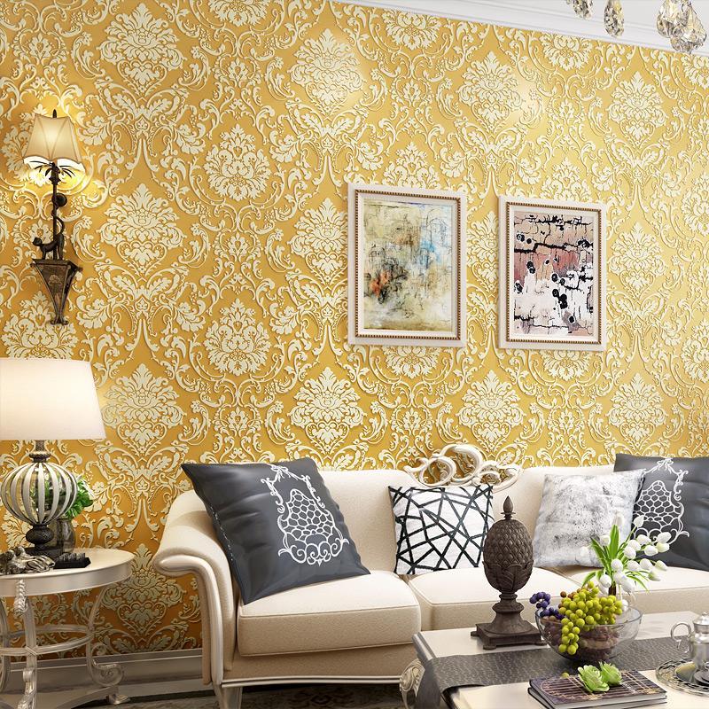 gestreifte tapete muster kaufen billiggestreifte tapete muster partien aus china gestreifte. Black Bedroom Furniture Sets. Home Design Ideas