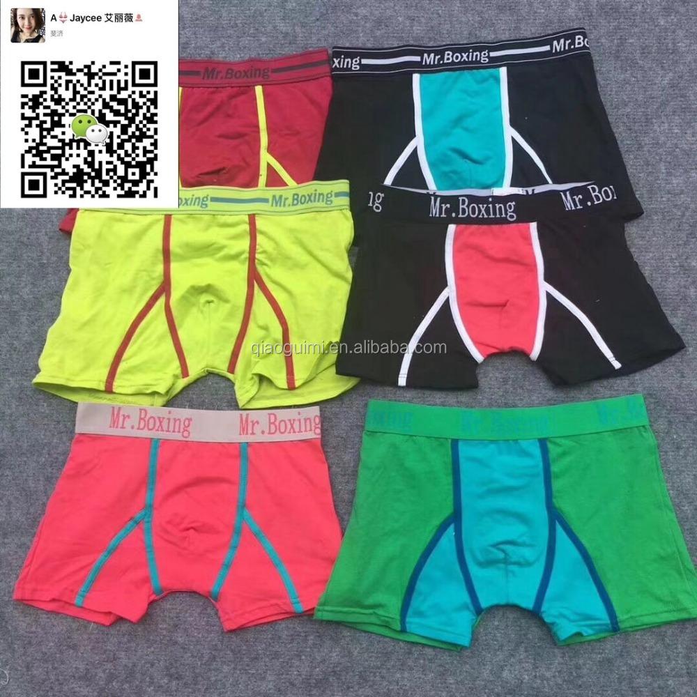 cotton spandex mix styles men boxers fashion design stocklot men s underwear 848334c0a