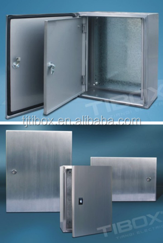 TIBOX New products floor standing industrial waterproof stainless steel enclosures wall mounting enclosure