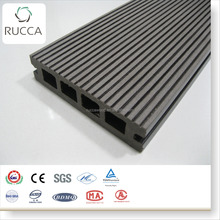 2018 RUCCA waterproof interlocking composite cheap price difference between wood decking timber