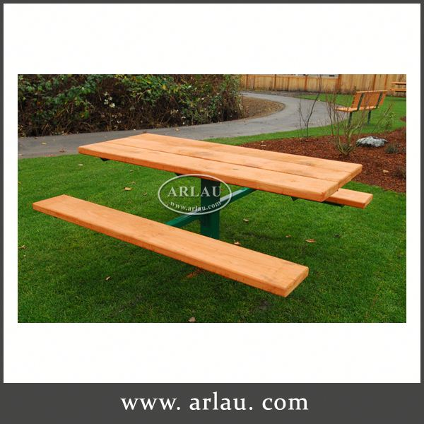 Arlau Kids Anitique Wooden Picnic Table, Table Wood, Kids Wood Table And Chairs Set