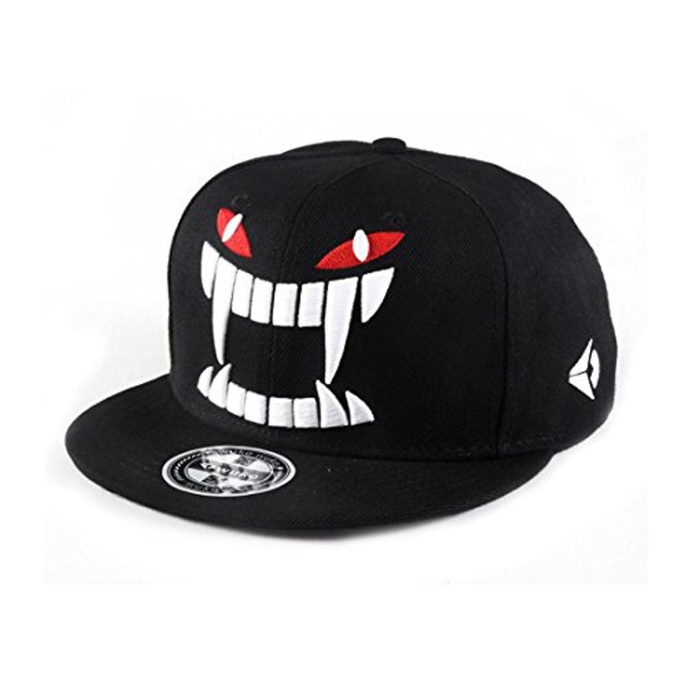 Custom skull caps sports hip hop flat caps for men