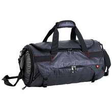 OEM custom duffle bag sport bag with shoe compartment