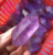 Wholesale natural amethyst double wand point for sale