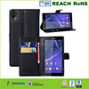 High Quality For Sony E3(4.5) Wallet Case Cover,For Sony Z4 leather Flip Case