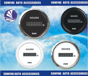52mm RED DIGITAL LED GLOWSHIFT DIGITAL AIR / FUEL RATIO AFR GAUGE METER FOR notchback saloon