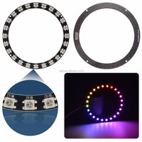 DC5V 24 Bits WS2812B SMD 5050 RGB LED Ring Lamp Light with Integrated Drivers