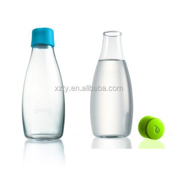Clear Gl Fridge Water Juice Bottle 500ml Mineral Drinking Product On Alibaba