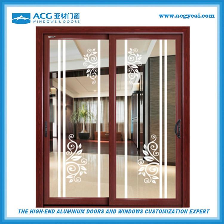 Proveedores de China corlor de aluminio con puertas correderas de ...