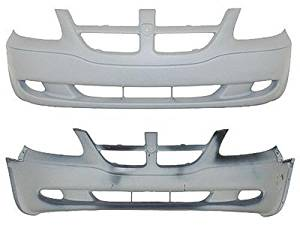 Crash Parts Plus Front Bumper Cover for 2001-2004 Dodge Caravan CH1000326