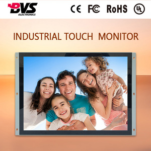 Commercial use 15 inch square screen car / bus monitor with 5ms response time