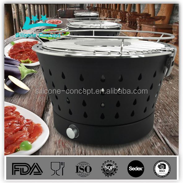 high temperature resistance smokeless charcoal barbecue grill wire netting