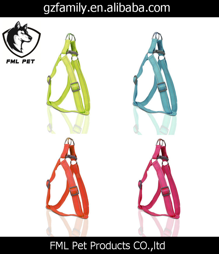 Reflective Nylon Pet Safety Dog Harness