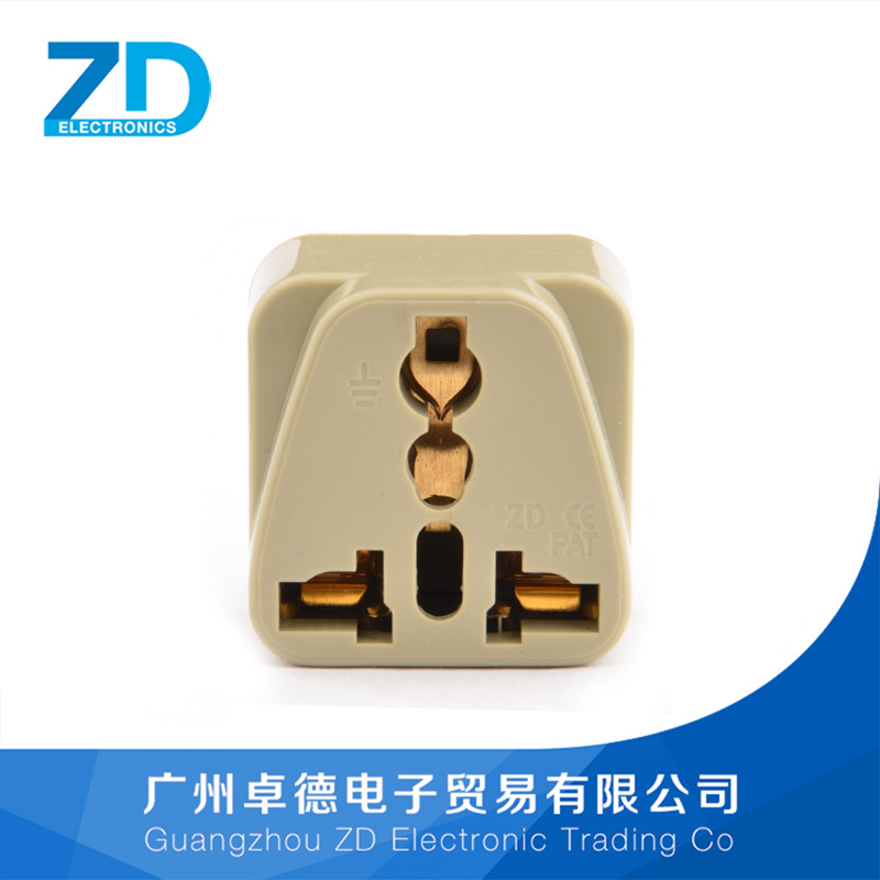 Residential Application 2 flat plugs convert universal Electrical Plug Type plug