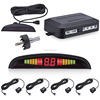 rear view very very small hidden camera car vertical rotary parking system