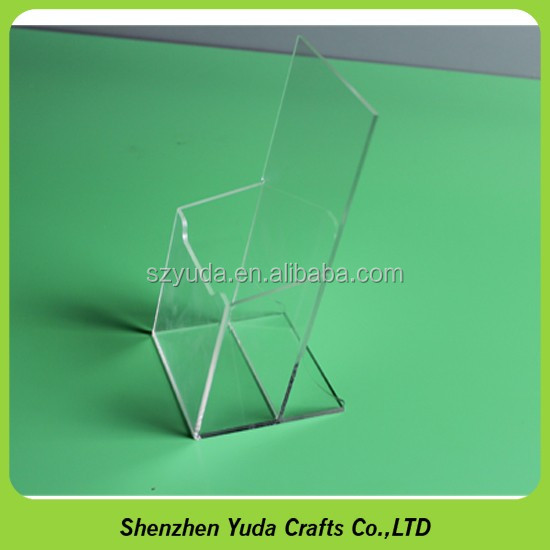 Unique Made Revolving Acrylic Leaflet Display Stand For A6