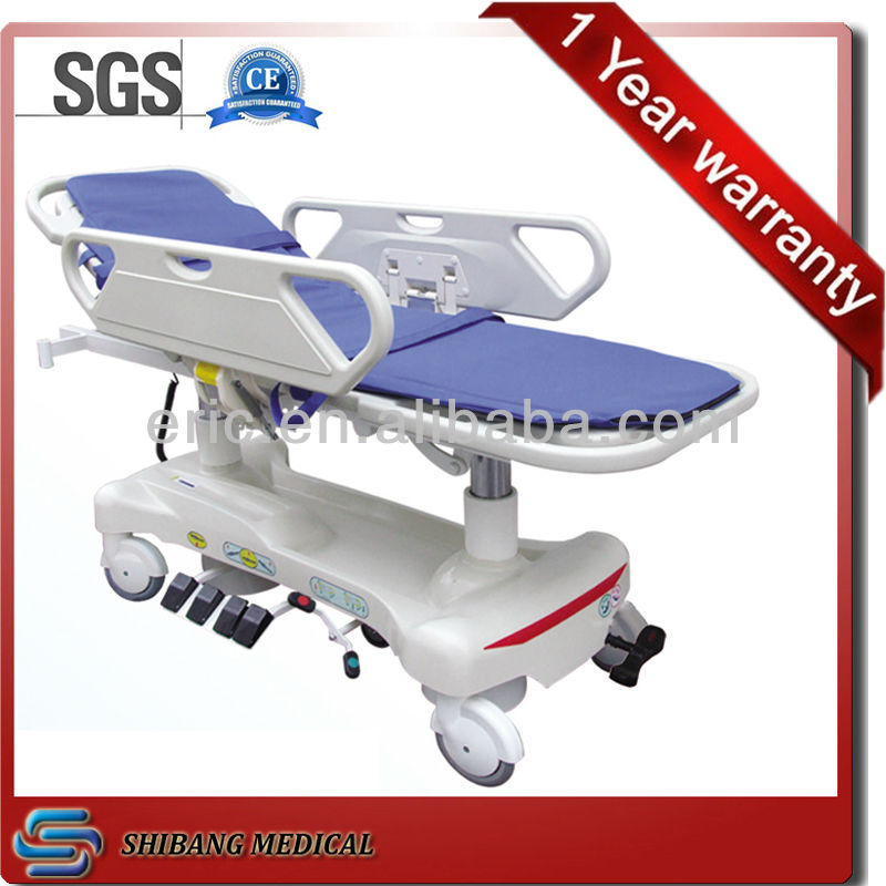 Good hospital furnitture ! SJ-TS010 stretcher for patients