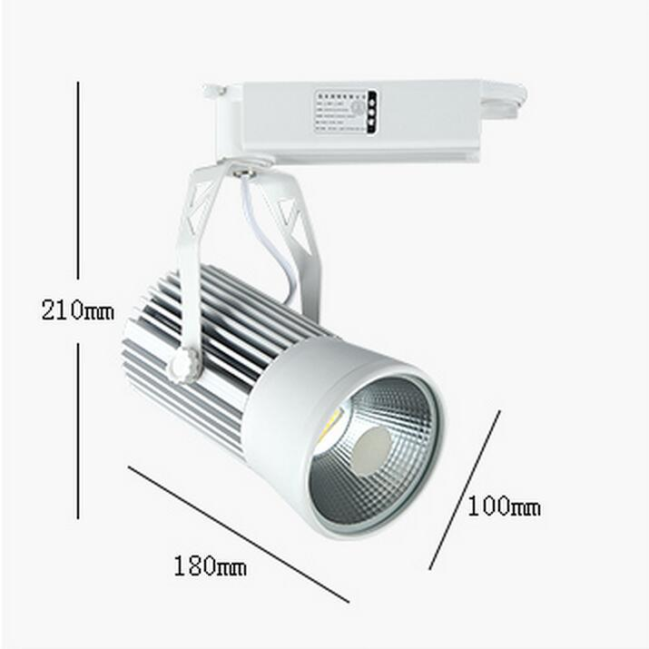 30w Cob Led Tack Light Clothing Store To Shoot The Light Cob Track