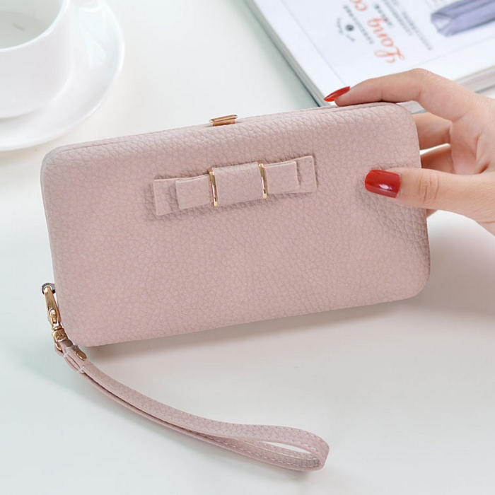 196a7144760b New Arrival Ladybeibei Women Wallets Women Long Design Cute Bowknot Large  Capacity Lunch Box Ladies Wallet Purse Clutch - Buy Ladybeibei Brand Women  ...