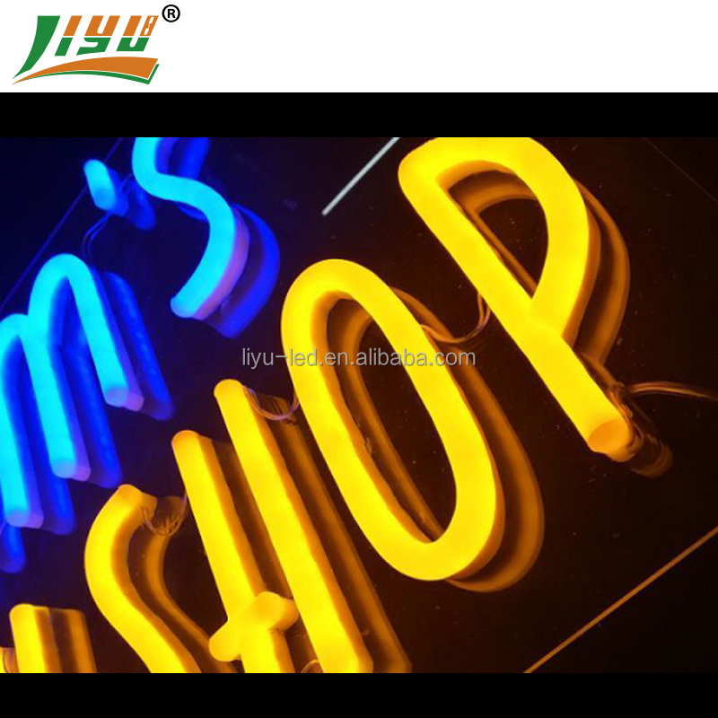 custom size small custom hand made cafe neon sign