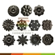 Cast iron rosettes&decorative panels