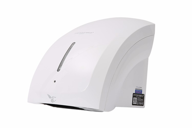 ABS plastic wall mounted folding automatic jet air cool air interhasa hand dryer