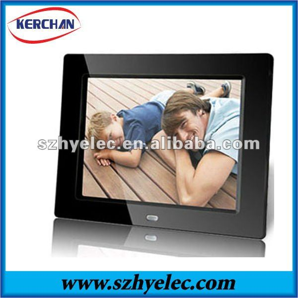 "8"" lcd digital photo picture frame"