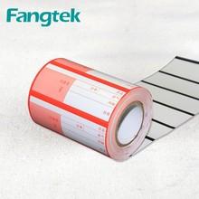 Customize Price Tag Label Supermarket Shelve Price Tag Label Roll
