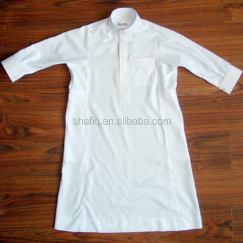 embroider muslim clothing arab thobe thawb robe abaya Jubba for kids