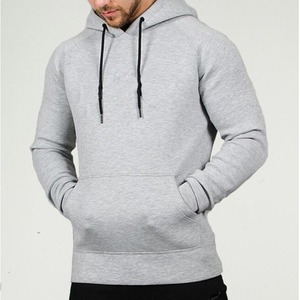 High quality heavy weight bodybuilding winter hoodies sweater oversize man hoody