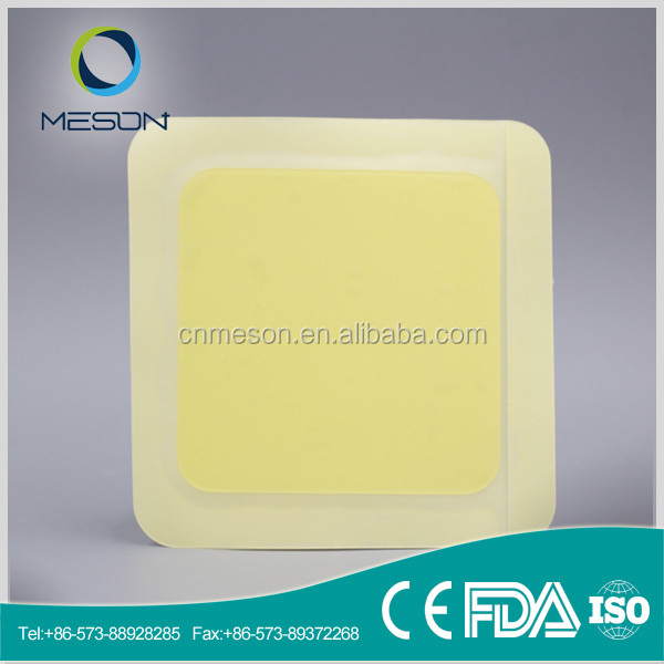 Free sample hydrogel wound care hydrocolloid plaster with border