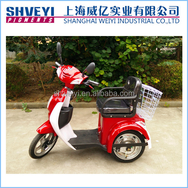The elderly disabled elderly scooter, electric tricycle