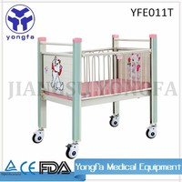 YFE011T Good Design Economic Style Low Price Baby Hospital Bed For Sale