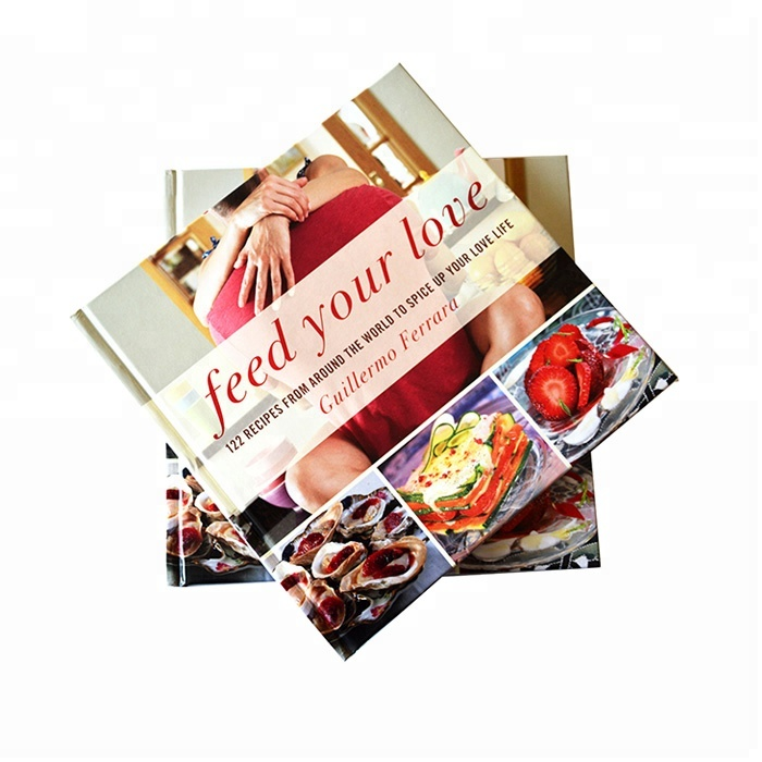 China high quality hardcover cooking food book <strong>printing</strong> in Shenzhen