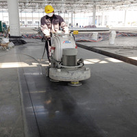 Professional ASL 9 heads Planetary concrete floor polisher / grinder