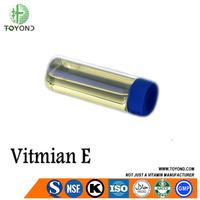 GMP Certificate Synthetic Vitamin E 98% for Cosmetic/Medicine/Food Grade