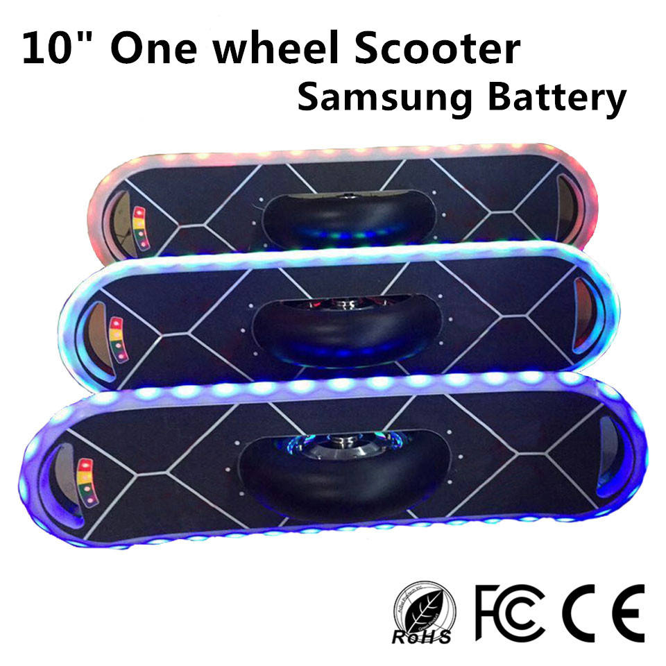 2016 new 10 inch balance scooter one wheel skateboard. Black Bedroom Furniture Sets. Home Design Ideas