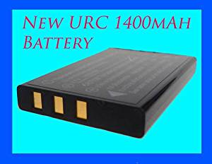 1800mah NEW high capacity replacement battery for Universal Remote Control models 11N09T MX 810 MX 880 MX 950 MX 980 remotes 1800mAh ****18 month warranty****