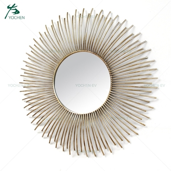 Metal Wall Art Decorative Mirror for Home Decor, View Wall Art ...
