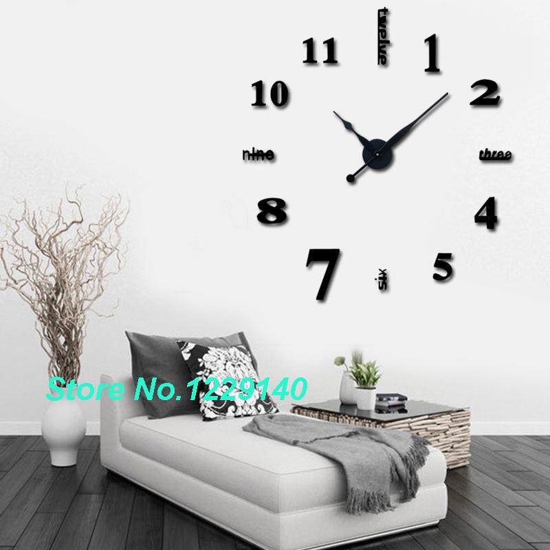horloge murale sans cadre. Black Bedroom Furniture Sets. Home Design Ideas
