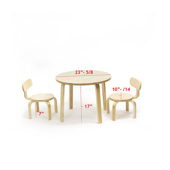 Montessori En71 Eco Friendly Kindergarten Table Chair Wooden Kids