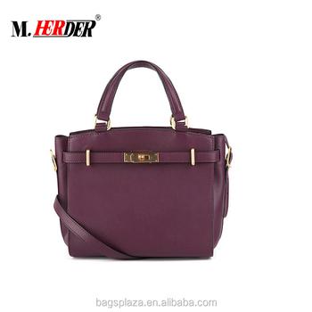 Uk Stylish Plain Pure Leather Bag
